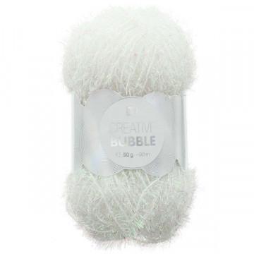 Creative bubble blanc irisé 013