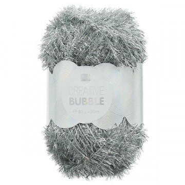 Creative bubble argent metal 014