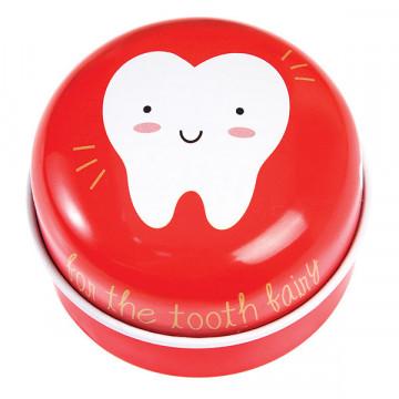 Boîte à Dent de lait rouge