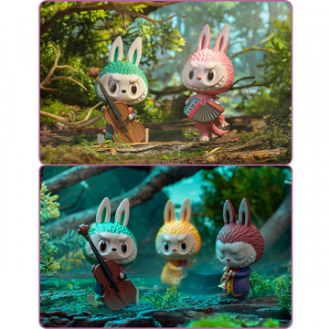 Figurine Labubu Forest Concert