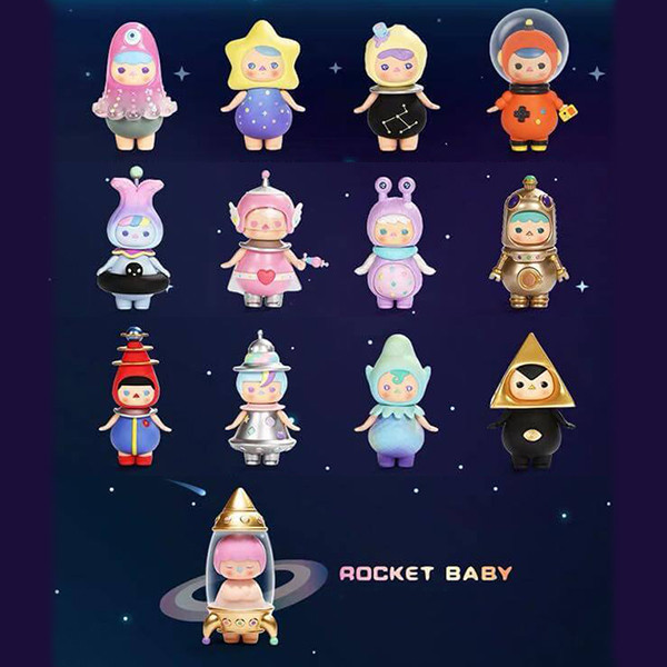 Figurine Pucky Space Baby