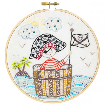 Kit broderie SOS Pirate