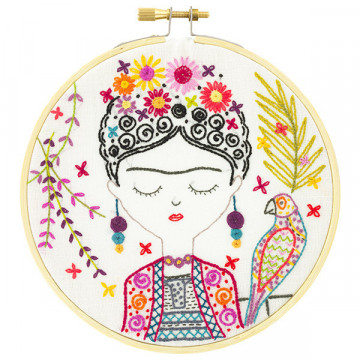 Kit broderie Jolie Frida