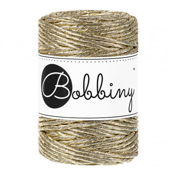 Bobbiny - Fil macramé GOLD