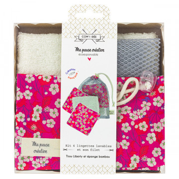 Kit 6 Lingettes Liberty