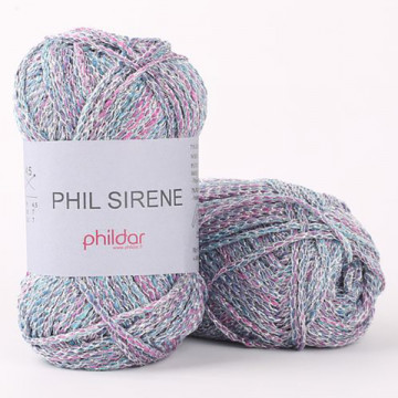 Phil Sirène Aqua - Phildar