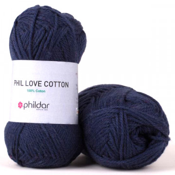 Love Cotton Marine - Phildar