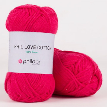 Love Cotton Fuchsia - Phildar