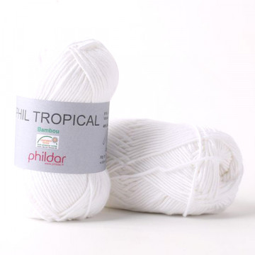 Phil Tropical Blanc - Phildar