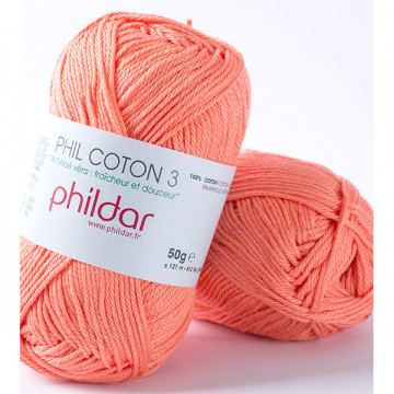 Phil Coton 3 Corail - Phildar