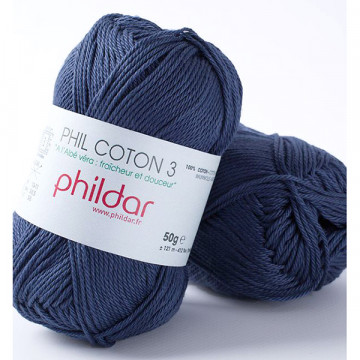 Phil Coton 3 Marine - Phildar