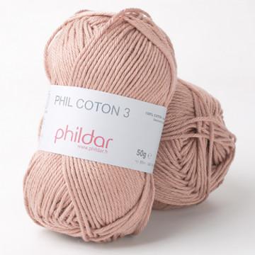 Phil Coton 3 Poudre - Phildar
