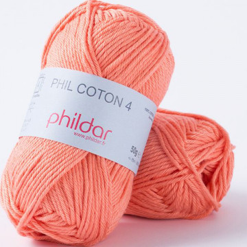 Phil Coton 4 Corail - Phildar
