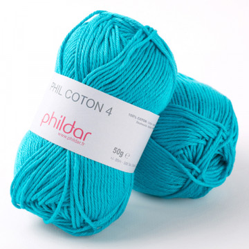 Phil Coton 4 Turquoise -...