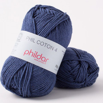 Phil Coton 4 Marine - Phildar