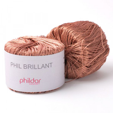Phil Brillant Cuivre - Phildar