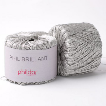Phil Brillant Argent - Phildar
