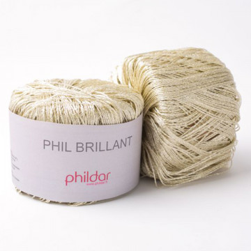 Phil Brillant Or - Phildar