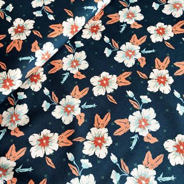 Tissu Fleurs romantiques