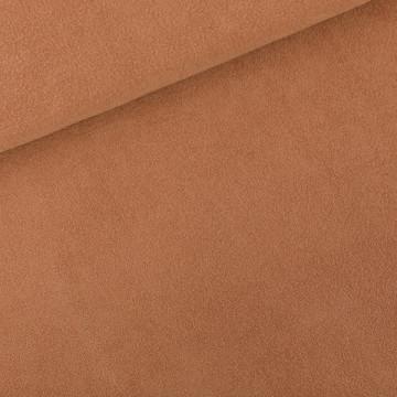 Tissu Eponge brun Chameau