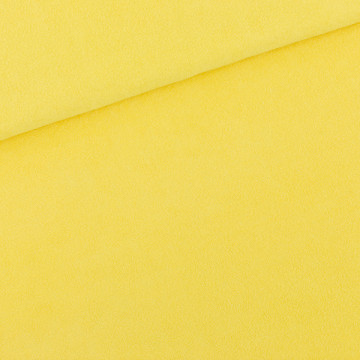 Tissu Eponge jaune...