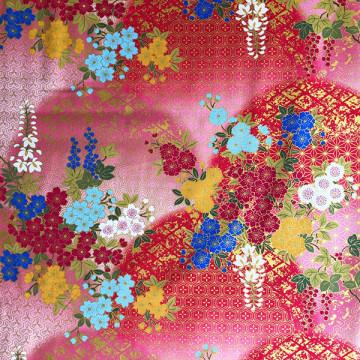 Tissu Fujisakura rose