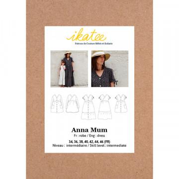 Patron ANNA Mum robe 34-46