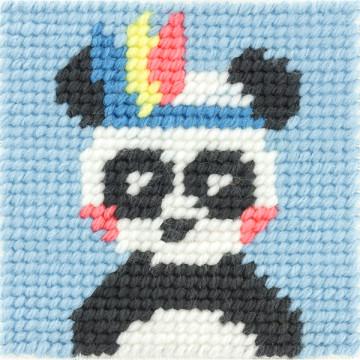 Kit Canevas Pandi-Panda