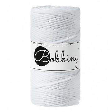 Bobbiny - Fil macramé Blanc