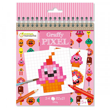 Carnet Graffy Pixel...
