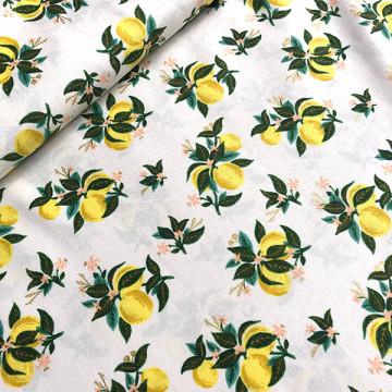 Tissu Lemonade citron