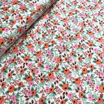 Tissu Primavera Rose