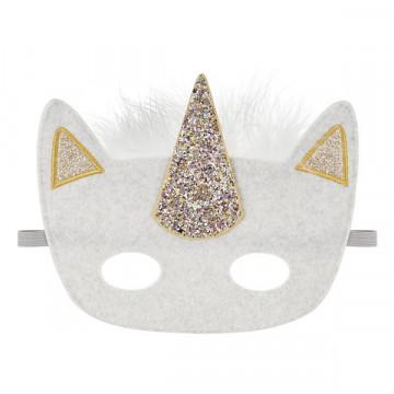 Masque Licorne à paillettes