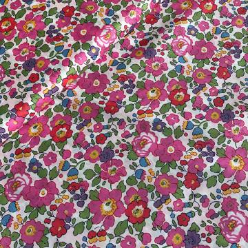 Tissu Liberty Art Fabrics Betsy fushia édition spéciale 40 ans