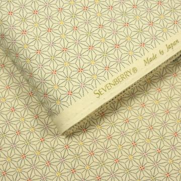 Tissu Asanoha de chez Sevenberry