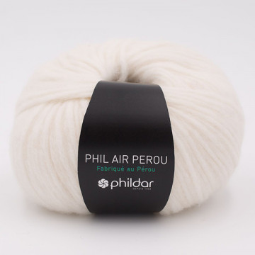 Phil Air Pérou Phildar - Ecru