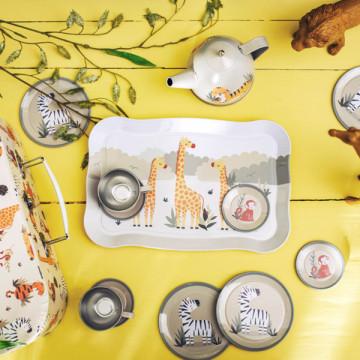 Valisette service à thé Safari