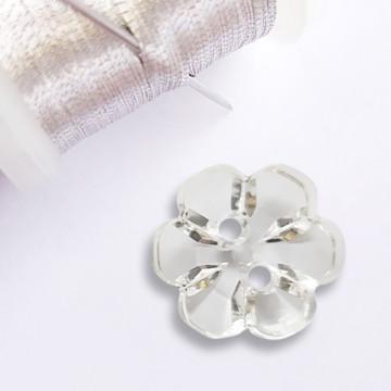 Bouton Fleur transparent en...
