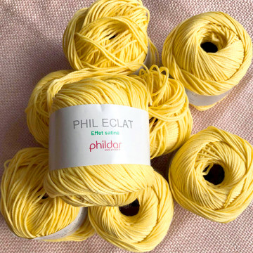 Lot 8 pelotes Phildar Phil...