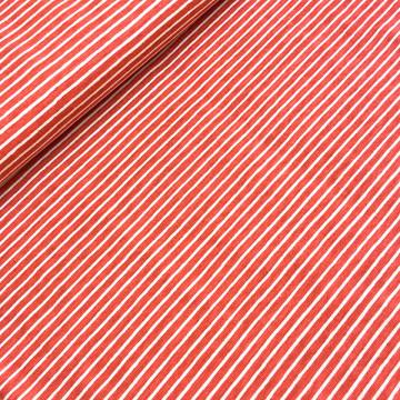 Tissu rouge Jersey à...