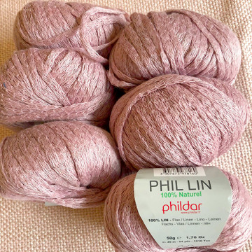Lot 6 pelotes Phildar Phil...