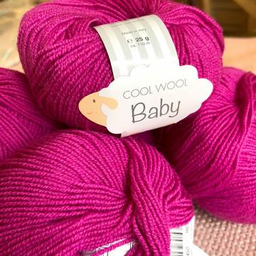 Lot 6 pelotes Cool Wool...