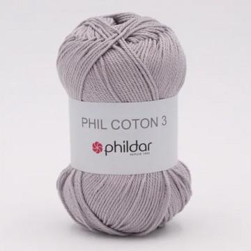 Phil Coton 3 Silver - Phildar