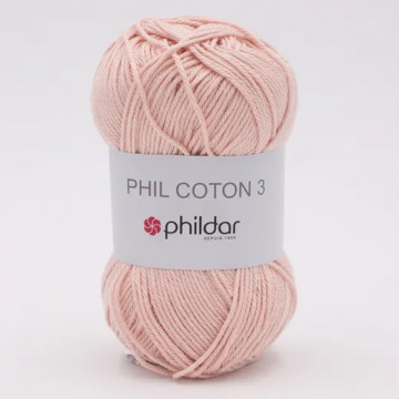 Phil Coton 3 Lait de rose -...