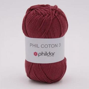 Phil Coton 3 Aubergine -...