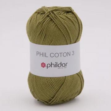 Phil Coton 3 Végétal - Phildar