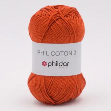 Phil Coton 3 Carotte - Phildar