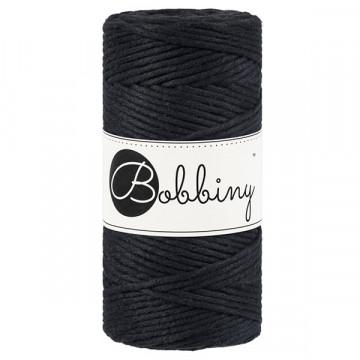 Bobbiny - Fil macramé Noir
