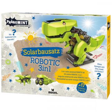 Robot dino solaire 3 en 1