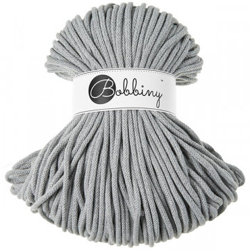 Bobbiny - Fil macramé Silver